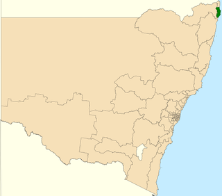 Electoral district of Ballina state electoral district of New South Wales, Australia