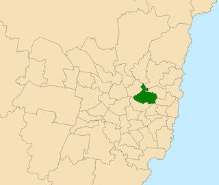 Electoral district of Lane Cove state electoral district of New South Wales, Australia