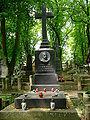 Nałęczów - Cmentarz - Grób Michała E. Andriolliego.jpg