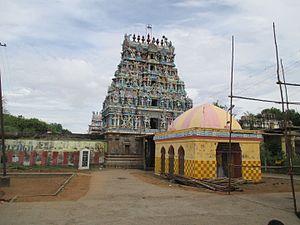 Kayarohanaswami Temple, Nagapattinam - Image: Nagai Karonam 1