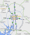 Nagoya Expwy. Ring Route Route Map 20160201A.png