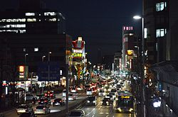 Nagoya Imaike night view 2016.JPG