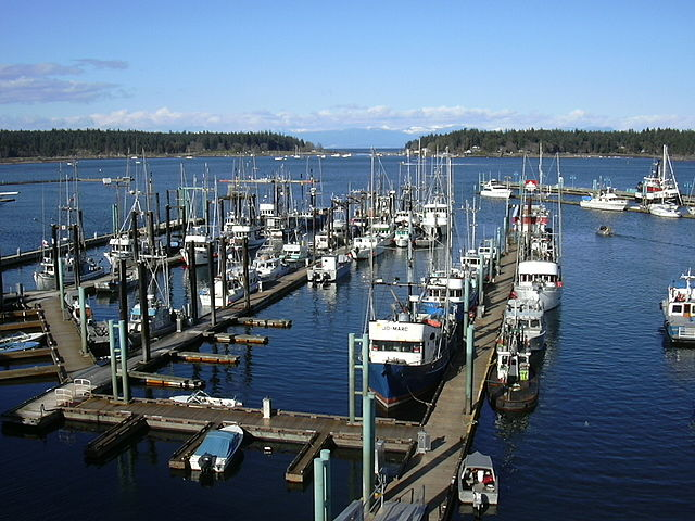 Nanaimo Harbour by Masterhatch