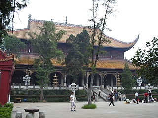 Grand Temple of Mount Heng building in Grand Temple of Mount Heng, China