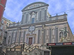 San Paolo Maggiore - Façade.