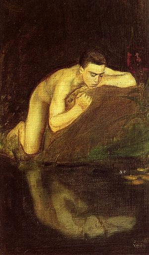 Magnus Enckell - Enckell's Narkissos