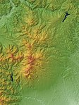 Nasu Volcano Group Relief Map, SRTM-1.jpg