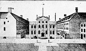 Navy Board - Navy Office, Crutched Friars (the Board's headquarters 1656-1788)