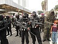 Navy PASKAL frogman strike team personnels with HK weapons during 57th NDP.JPG