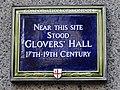 Near this site stood Glovers' Hall 17th - 19th Century.jpg