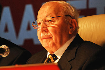 "Necmettin Erbakan, was the first Islamist Prime Minister of Turkey elected in 1996, but was removed from power by a ""postmodern coup d'etat"" in 1997. Necmettin-Erbakan.jpg"
