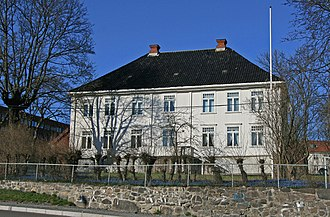 Blindern - Rectory for Vestre Aker parish Built between 1790 and 1800