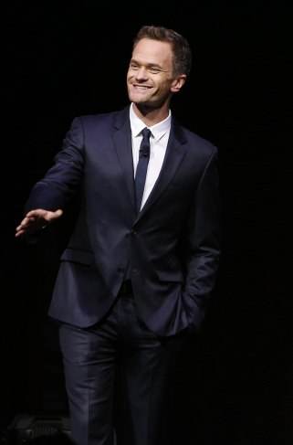 Neil Patrick Harris in LG Electronics%27 %27Art of the Pixel%27 New-Media Competition, September 2014