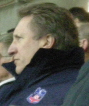 Neil Warnock - Warnock with Palace