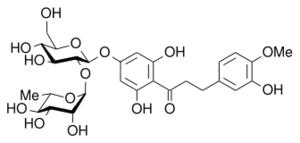 Neohesperidin dihydrochalcone - Image: Neohesperidin dihydrochalcone
