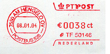 Netherlands stamp type QC11.jpg