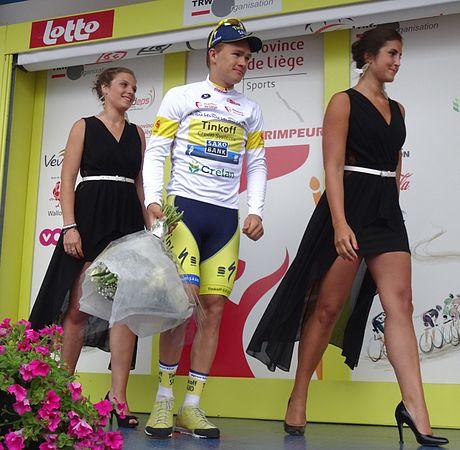Neufchâteau - Tour de Wallonie, étape 3, 28 juillet 2014, arrivée (E25).JPG