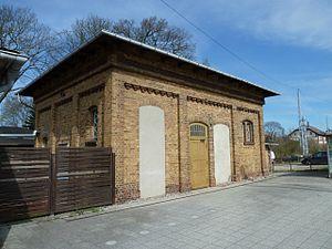 Neustrelitz Hauptbahnhof - Listed former public lavatory at the Hauptbahnhof