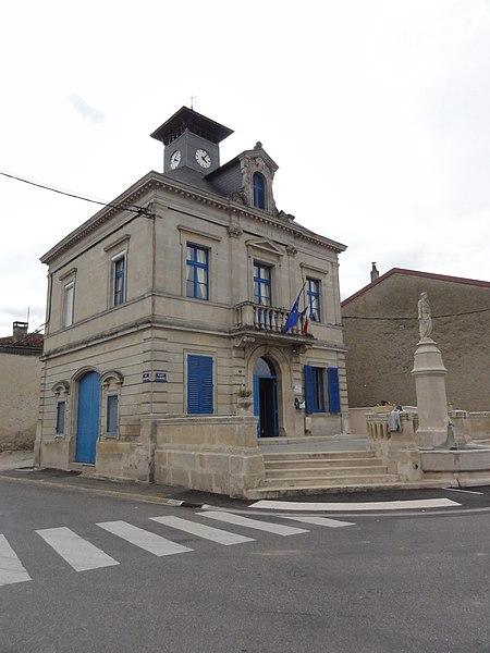 Neuville-sur-Ornain (Meuse) mairie