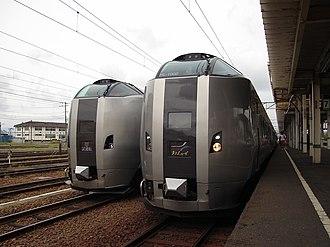 Hokkaido Railway Company - 789-1000 series EMU Super Kamui