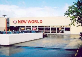New World (supermarket) - Image: New World supermarket, Dunedin