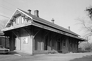 New York, New Haven & Hartford Railroad Station, Railroad Place, Southport (Fairfield County, Connecticut).jpg