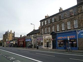 Newington, Edinburgh - Image: Newington Road, Edinburgh