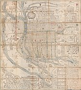 Newly compiled and enlarged plan of Ōsaka (14042582876)