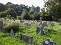 Newport Castle from St Mary's churchyard.jpg