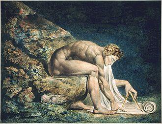 Newton (Paolozzi) - William Blake's Newton (1795)