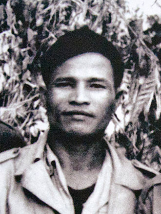 Central Office for South Vietnam - Nguyễn Chí Thanh, the leading strategist and military commander of the Viet Cong. He would die of a heart-attack in 1967 while reporting on the war situation to Hanoi.