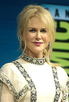Nicole Kidman Australian-American actress and film producer