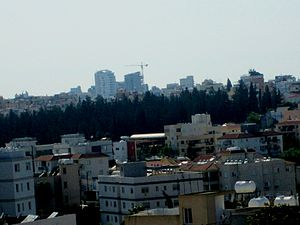 Demographics of Cyprus - Urban skyline of Nicosia