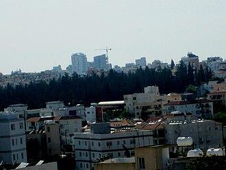 Demographics of Cyprus - Urban skyline of Nicosia