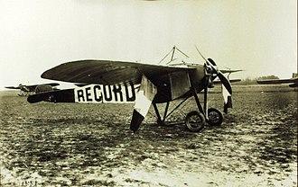 Nieuport II - Nieuport II.G monoplane in which Emmanuel Helen won the Michelin cup