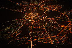 Night aerial view of Kazan, Russia (2007).jpg