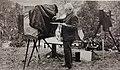 Nikolaus Kuss II beim präperieren der Glasplatte.jpg