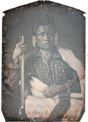 No-Che-Ninga-An, Chief of the Iowas, by Thomas Easterly, 1845.png