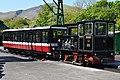 No12 George and coach at Llanberis. Snowdon Mountain Railway (8983794587).jpg