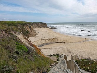 Half Moon Bay, California - Publicly-accessible beach