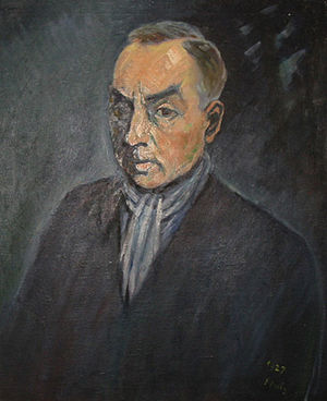Norbert Jacques - Image: Norbert Jacques by Waldemar Flaig 1927