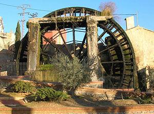 Abarán - The great waterwheel of Abarán