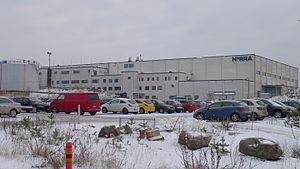Nordic Regional Airlines - Nordic Regional Airlines head office in Vantaa