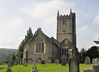 North Bovey - The parish church