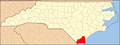 North Carolina Map Highlighting Brunswick County.PNG