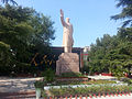 Northpark mao memorial jinan sculpture close.jpg