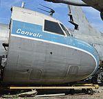 Nose of Convair 440-41 (N138CA) (26130428604).jpg