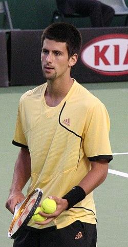 cb8a4ef836 Djokovic durante el Abierto de Australia 2007.