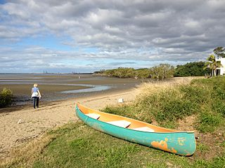 Nudgee Beach, Queensland Suburb of Brisbane, Queensland, Australia