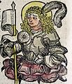 Nuremberg chronicles - Menna the Soldier (CXXVIIv).jpg